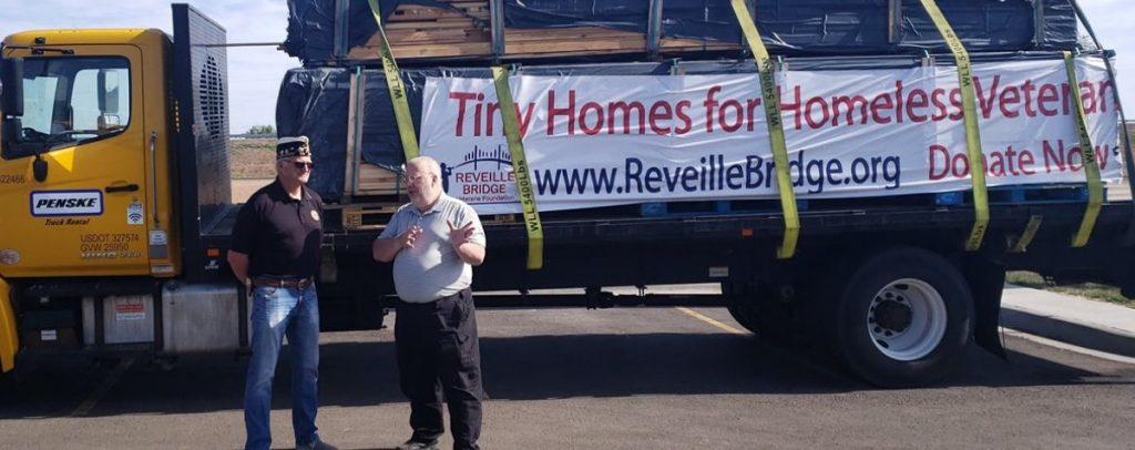 tiny homes for homeless veterans